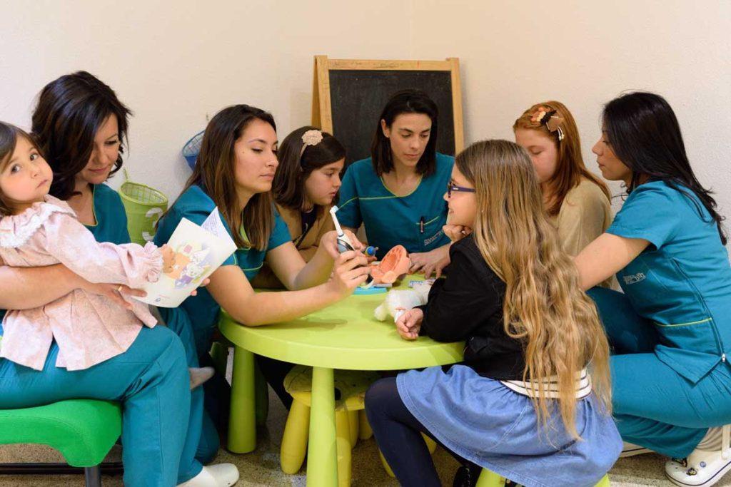 Zona de Niños en nuestra clínica Dental
