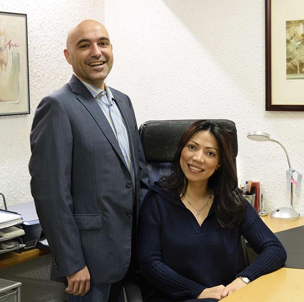David & Ángela gerentes de Policlínica D&D